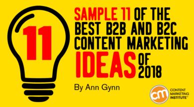 inspiring content ideas