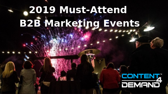 2019 B2B Marketing Events