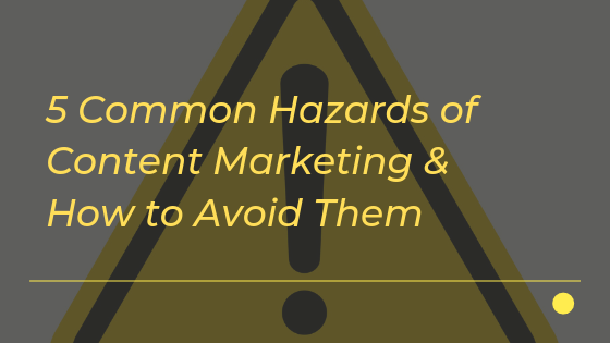common marketing hazards